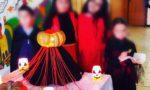 I Bambini della scuola primaria festeggiano Halloween