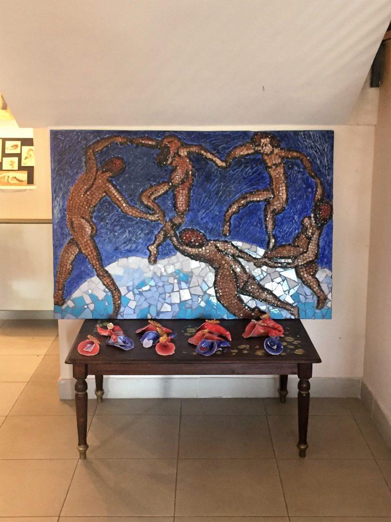 Locus Art. Lavori realizzati dai ragazzi del Liceo Artistico